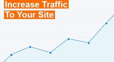 increase traffic on website through social media